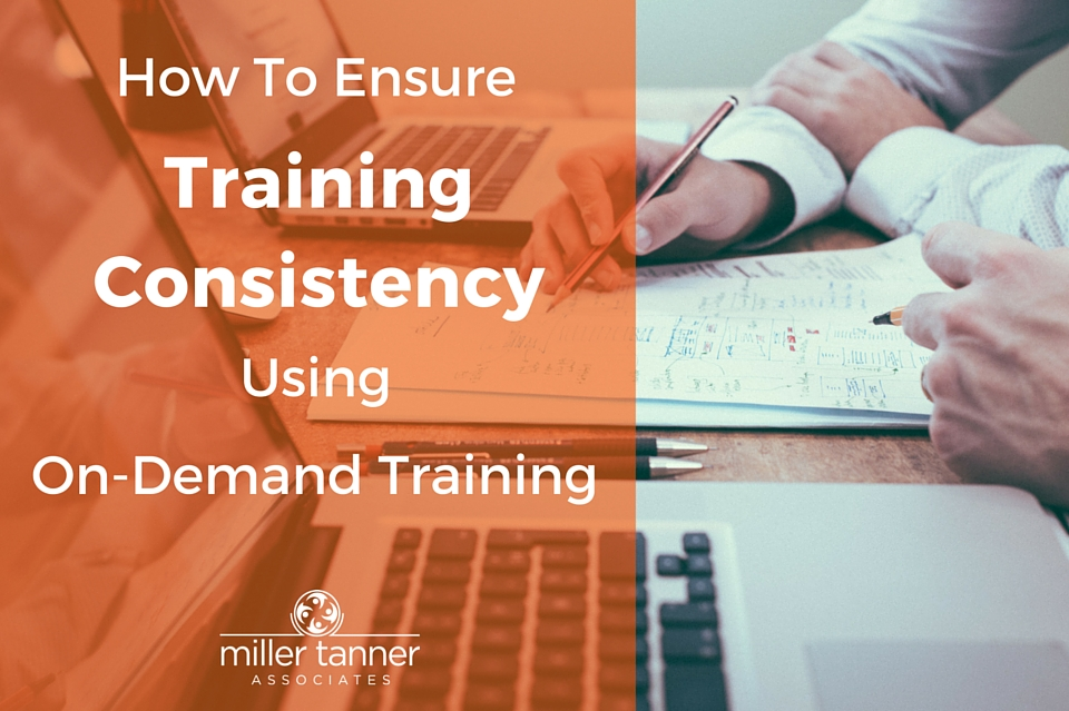 How to Ensure Training Consistency Using On-Demand Training - Title