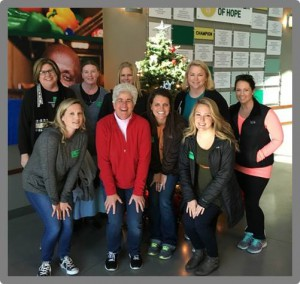 Group photo of MTA helping at Second Harvest Food Bank in Nashville