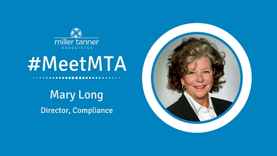 #MeetMTA Mary Long Director of Compliance