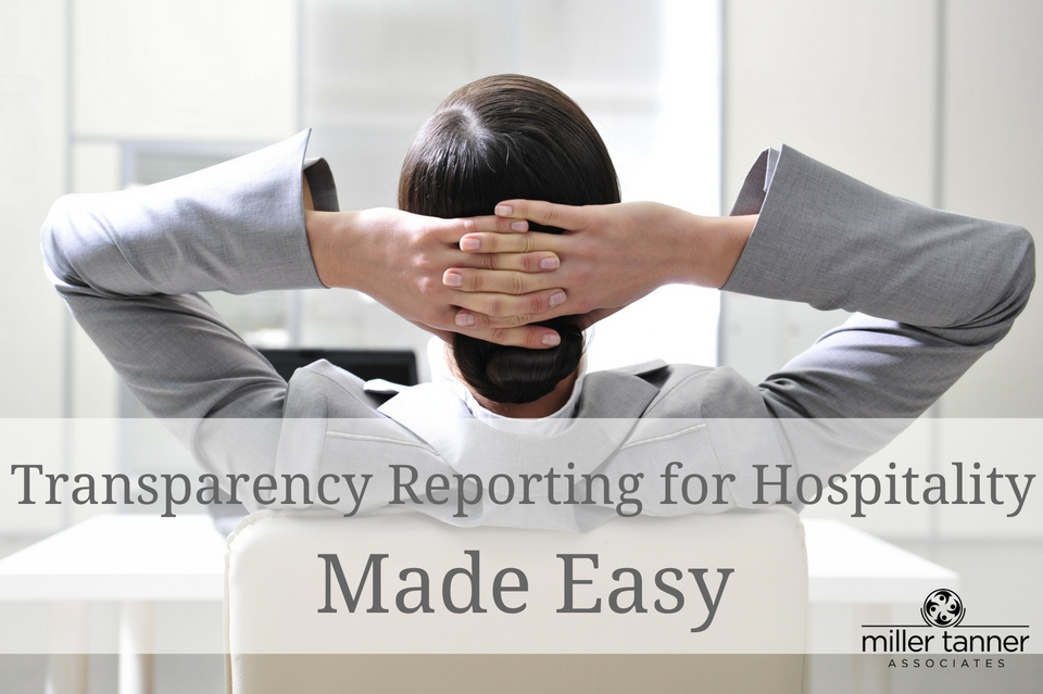 Transparency Reporting For Hospitality Made Easy