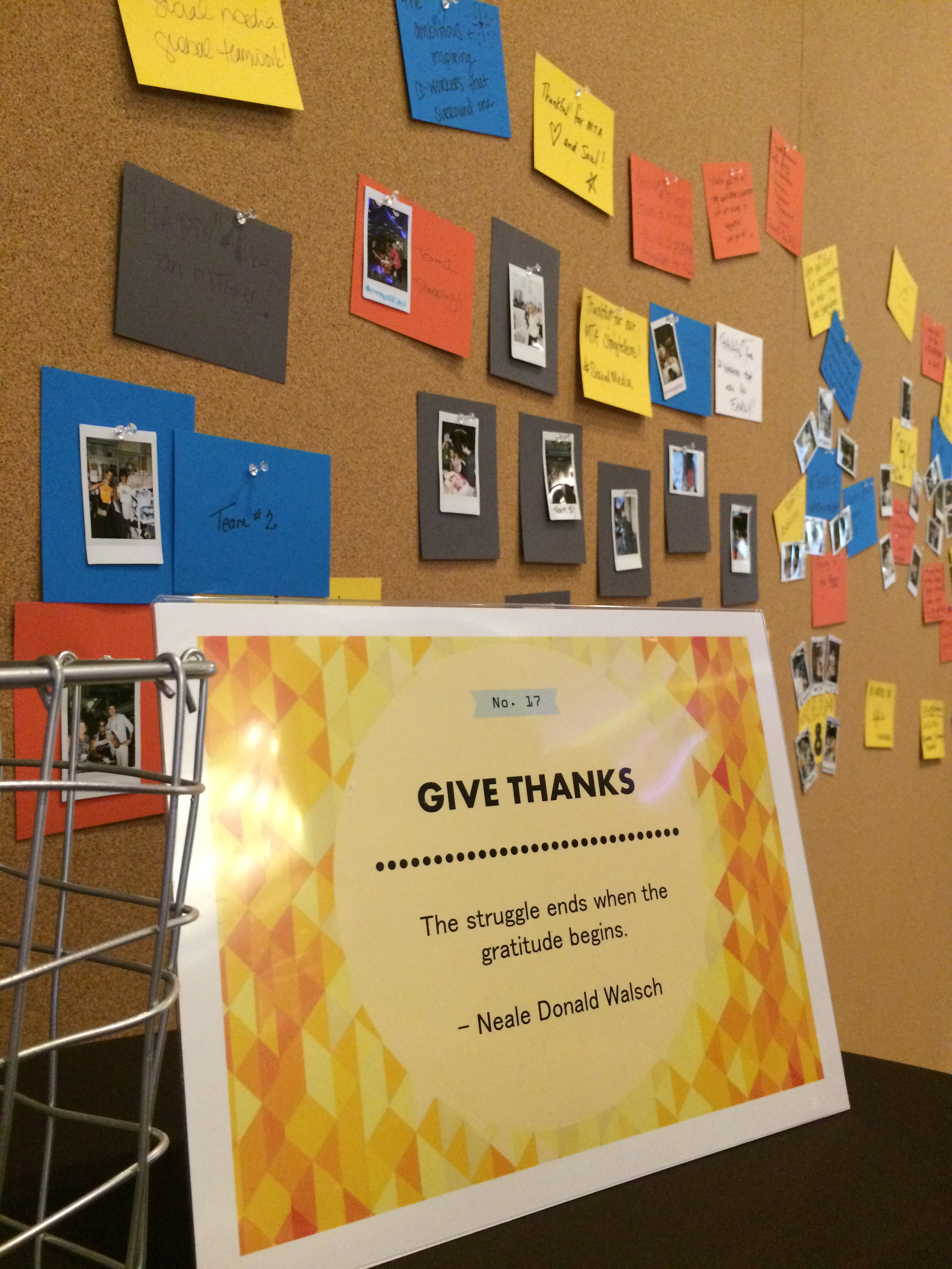 Wall of Gratitude
