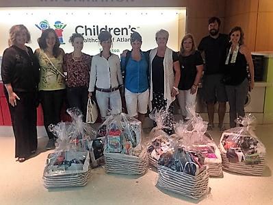 Team Building at Children's Healthcare of Atlanta
