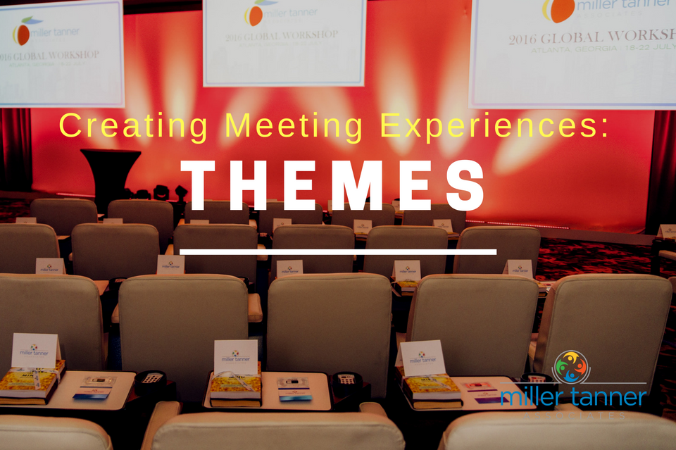 4 Ways to Create Meeting Experiences With Themes