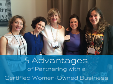 5 advantages of partnering with a certified women-owned business