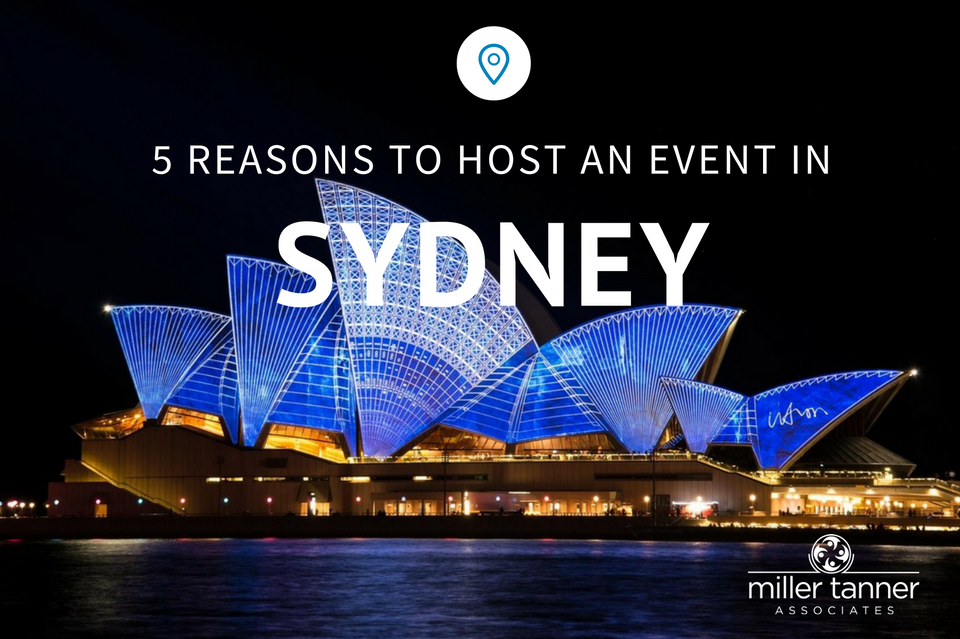 5 reasons to host an event in Sydney