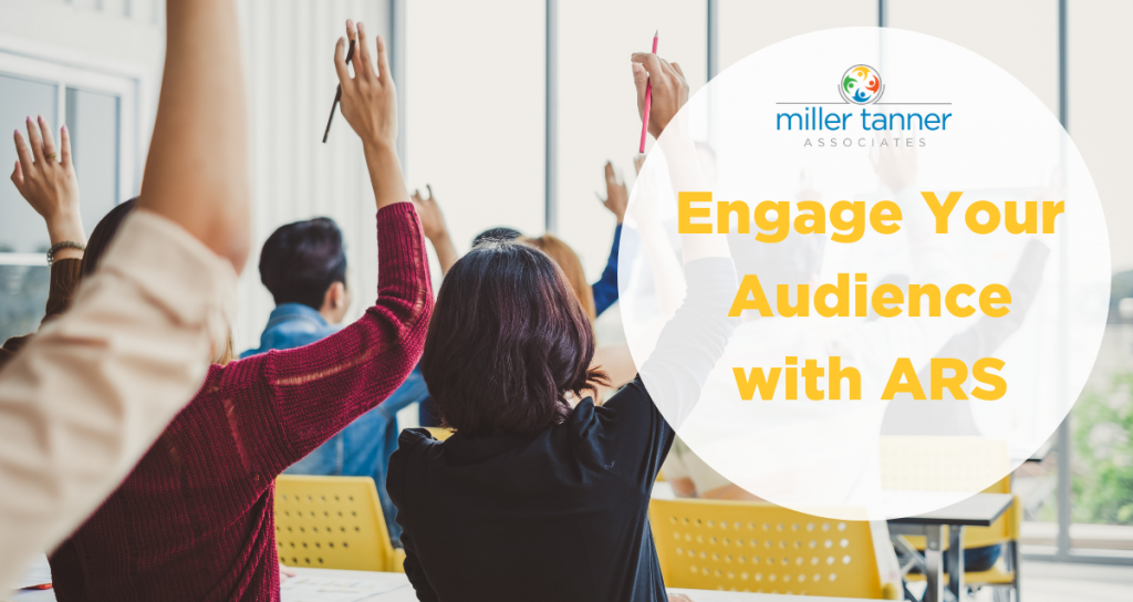 Audience Response System (ARS) for Attendee Engagement
