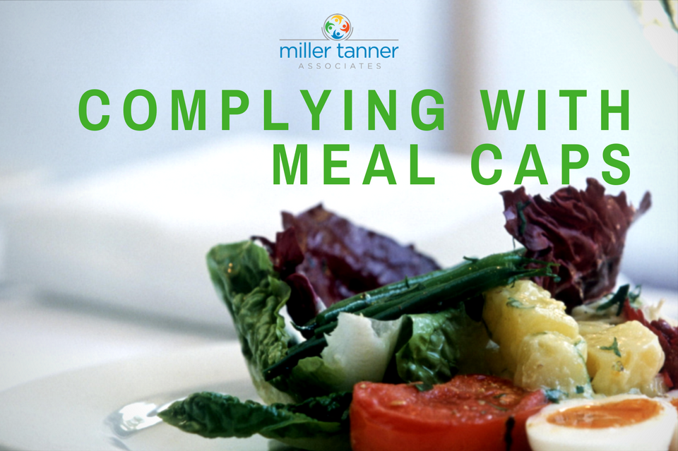 Pharma Event Planners Complying with Meal Caps