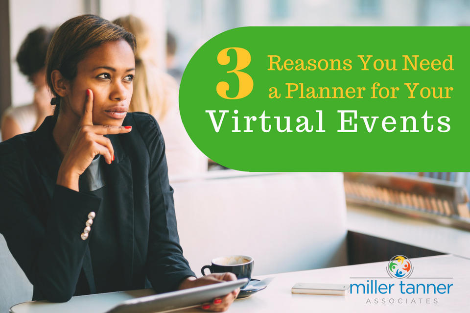 Reasons you need a planner for virtual events