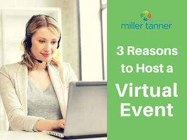 3 Reasons to host a virtual event