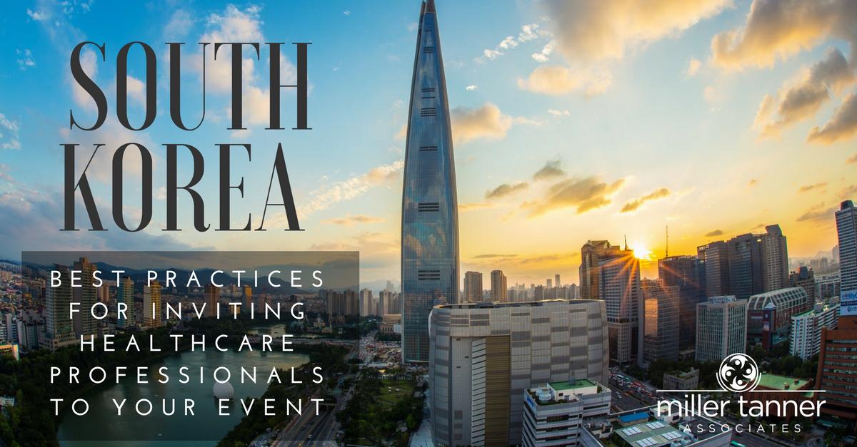 South Korea Event Best Practices