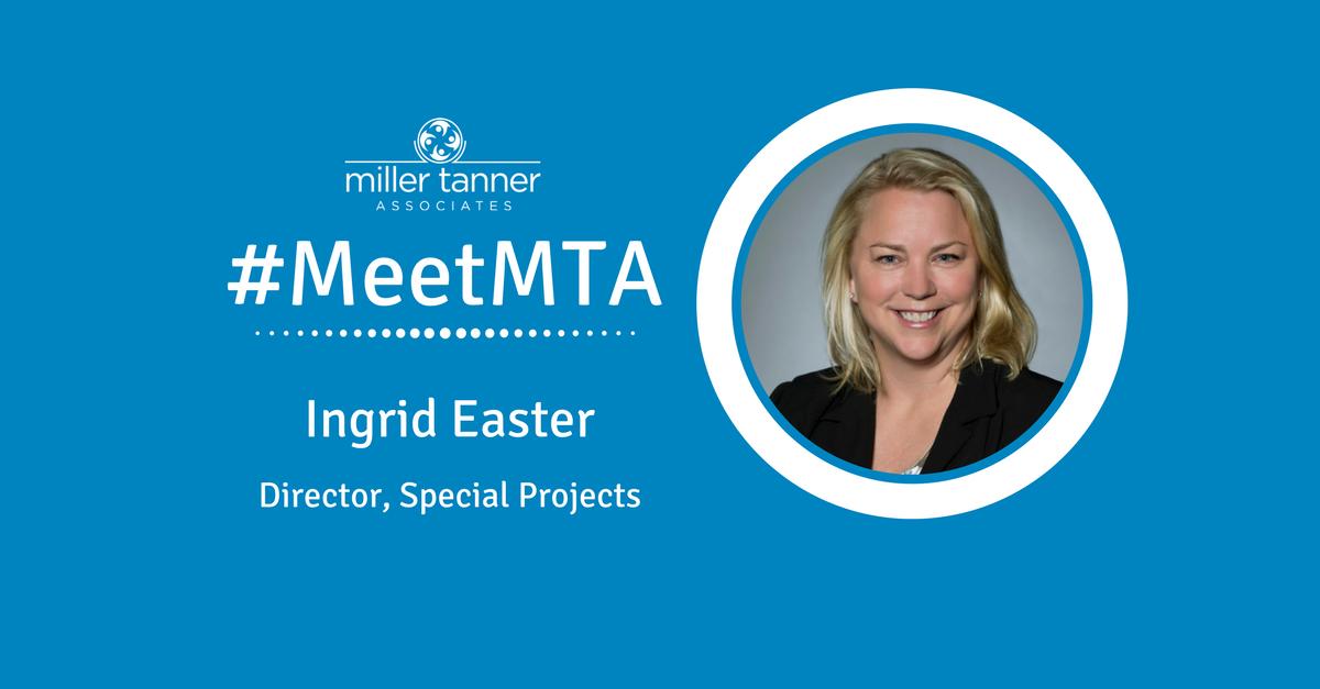 Meet MTA Ingrid Easter
