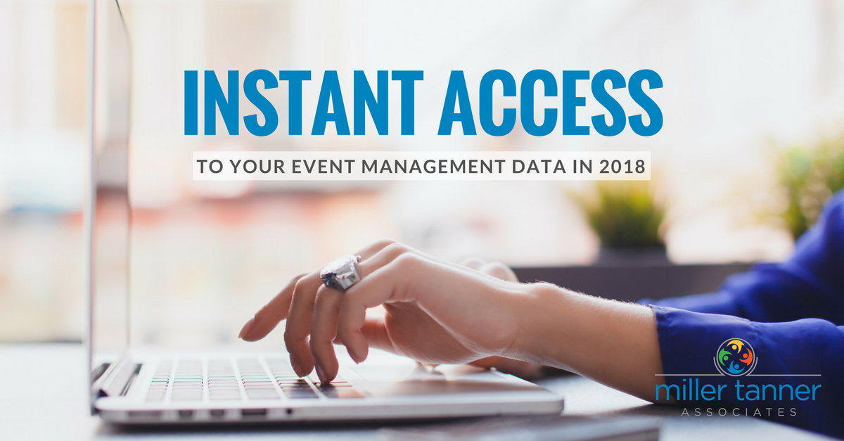 instant access to event data