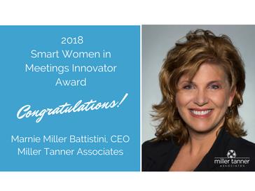 2018 Smart Women in Meetings Innovator Award