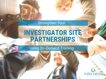 strengthen investigator site partnerships