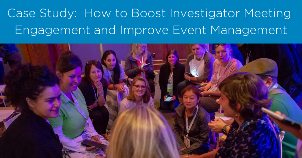 How to Improve Investigator Meeting Engagement: A Case study