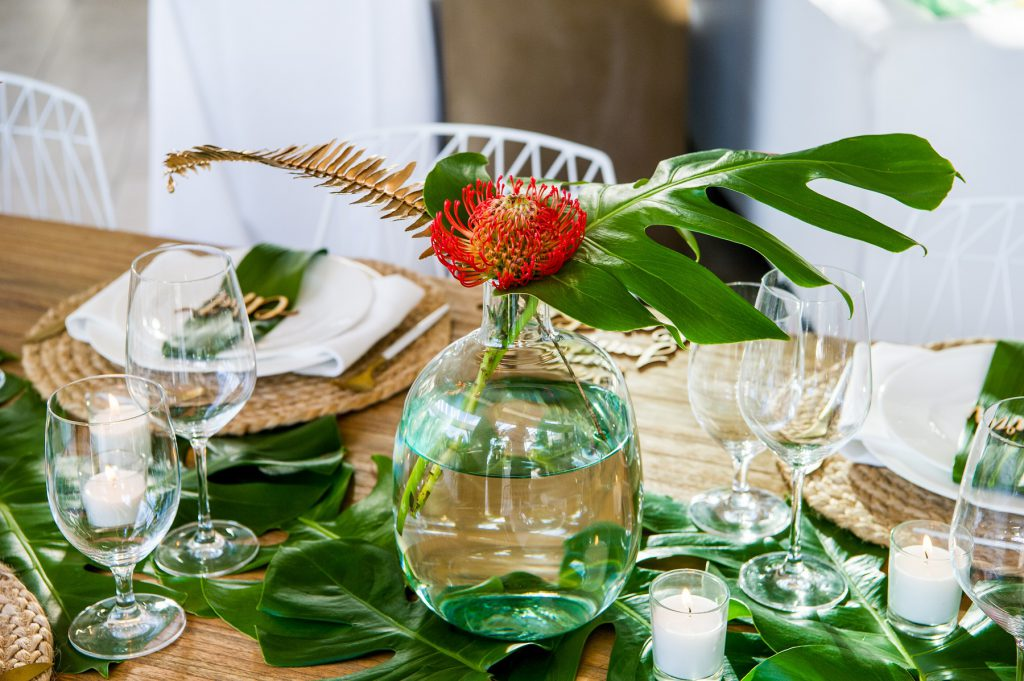 tablescapes that match the event theme